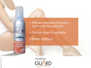 moskito guard spray peau
